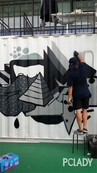 亚洲杰出涂鸦艺术家群聚 KP STREET 宣布正式开放 - 第3张  | 嘻哈中国