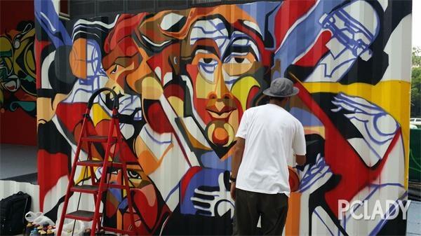 亚洲杰出涂鸦艺术家群聚 KP STREET 宣布正式开放 - 第7张  | 嘻哈中国