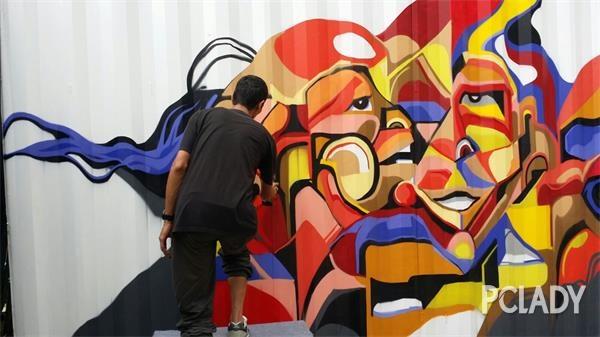 亚洲杰出涂鸦艺术家群聚 KP STREET 宣布正式开放 - 第6张  | 嘻哈中国