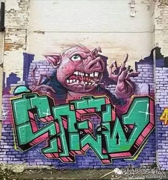 街头涂鸦 也是一种创作 - 嘻哈之城