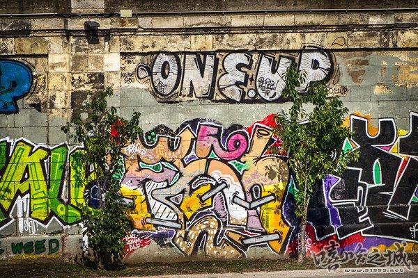 奥地利有趣的街头涂鸦 - 嘻哈之城