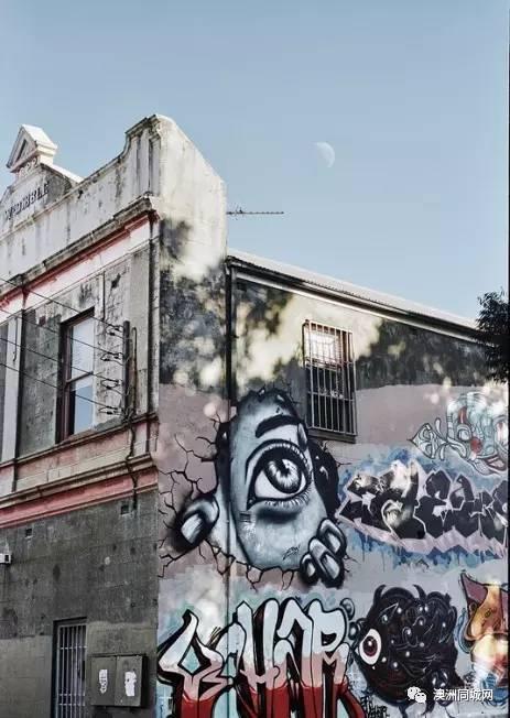 涂鴉也是藝術!看澳洲攝影師用鏡頭記錄的悉尼涂鴉!