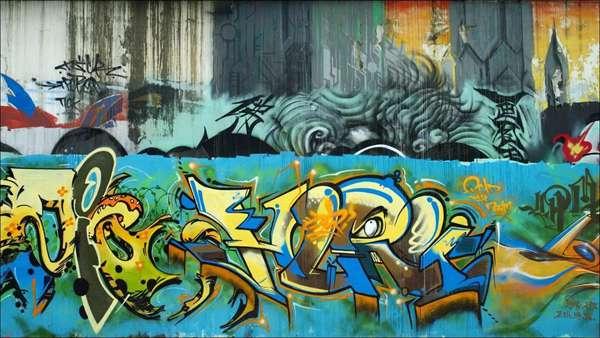 街头涂鸦 家纺界的freestyle - 嘻哈之城