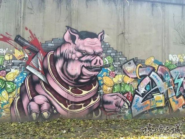 街头涂鸦爱好者福利 帝都街头涂鸦观赏指南 - 嘻哈之城