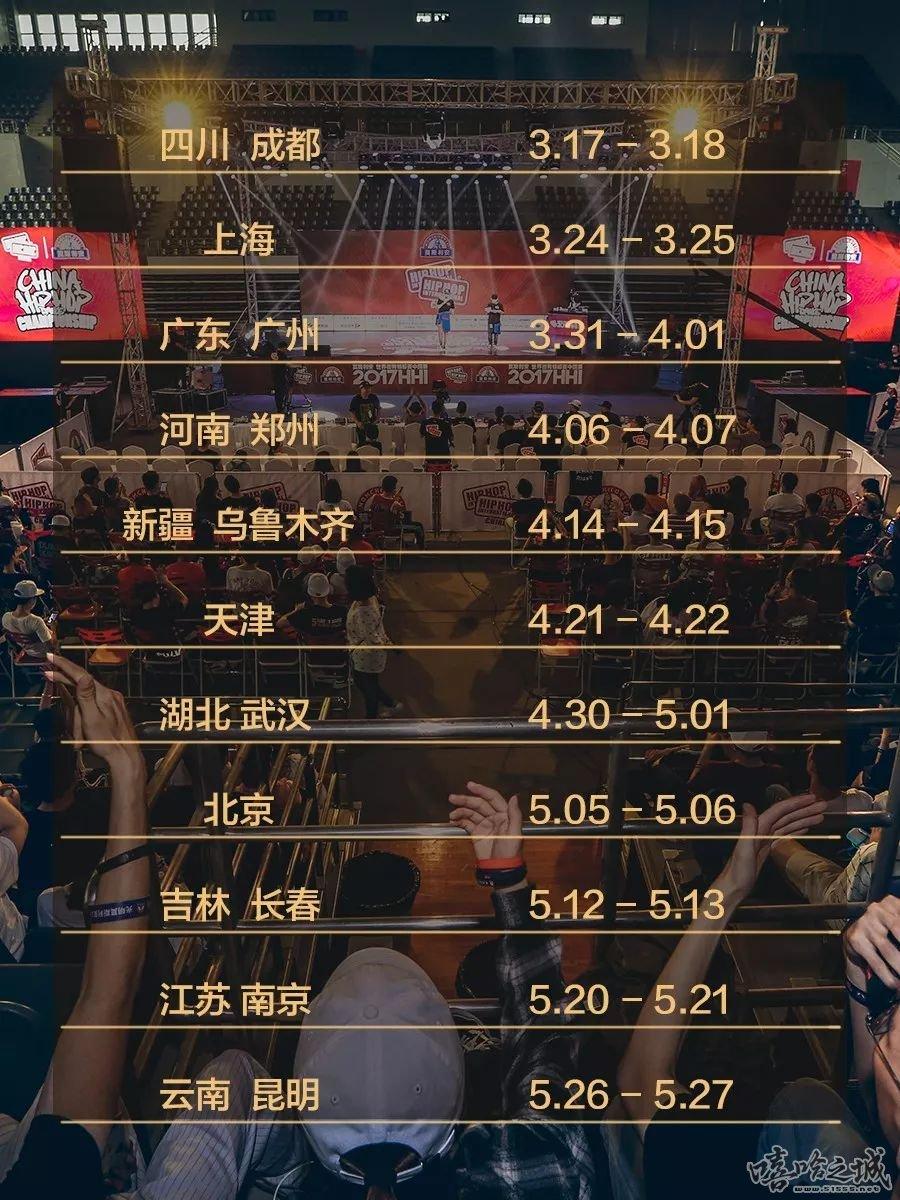 2018 HHI国际街舞大赛 中国分站赛即将引爆全国