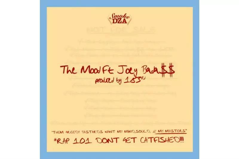 "Joey Bada$$助阵Smoke DZA新单""The Mood""首发"